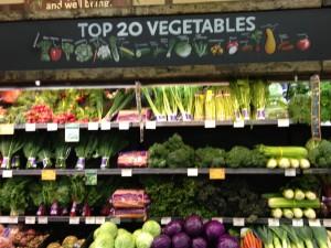 whole foods vegetable