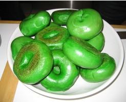 green bagel