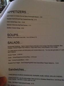 cincinnati arnold's menu