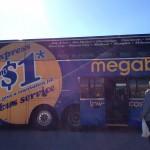 アメリカ長距離バスなら絶対メガバスが便利!ただし、持ち込んだ方がいいものが2つ