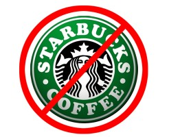 no more starbucks