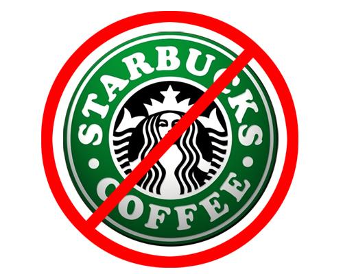 no more starbucks