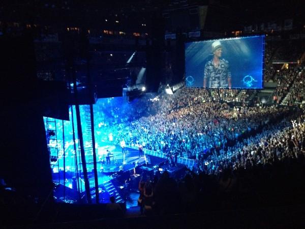 Bruno Mars(ブルーノマース)のアメリカツアー(Moon Shine Tour)に行ってきました!