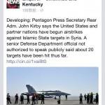 【アメリカ国民の狂気】シリア空爆に対するアメリカ人のFacebookでのリアルな反応