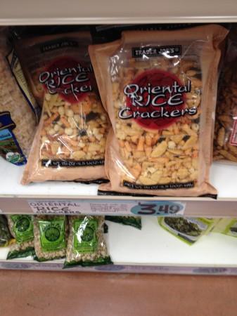 Trader Joe's rice snacks