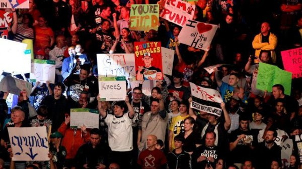 wwe sign board