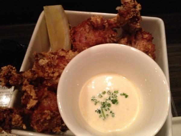 wasabi fried chicken