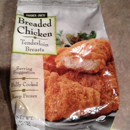 trader joe's breaded chicken