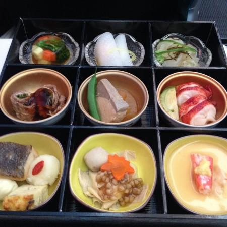 JALビジネスクラスの和食