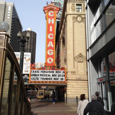Chicago theater tour