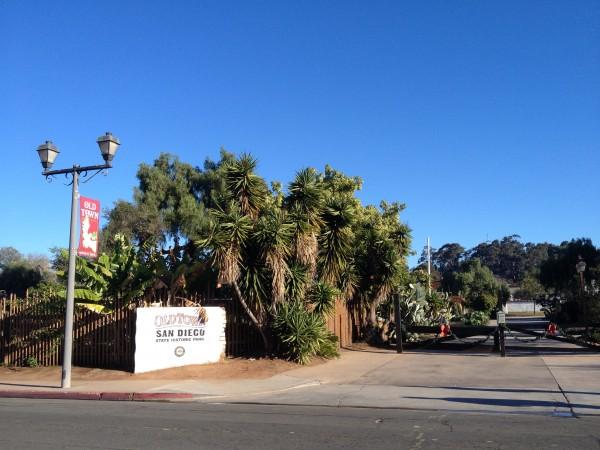 サンディエゴのオールドタウン入口
