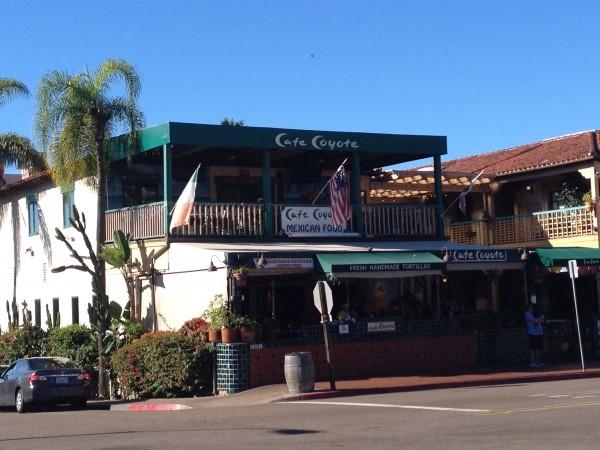 オールドタウンのメキシカンレストランCafe Coyote