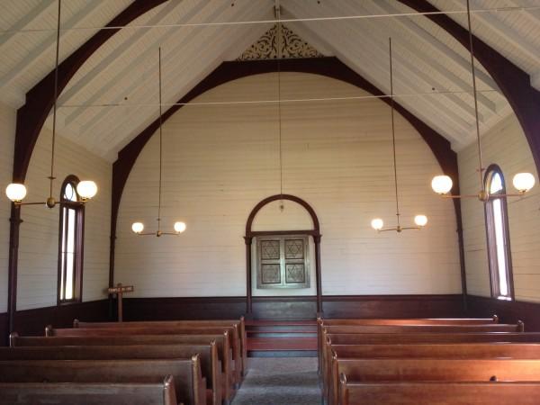サンディエゴオールドタウンの教会