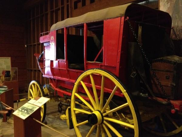 オールドタウンの馬車博物館