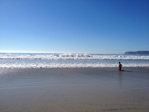 サンディエゴのコロナドビーチ