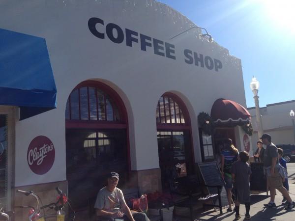 コロナド島コーヒーショップ