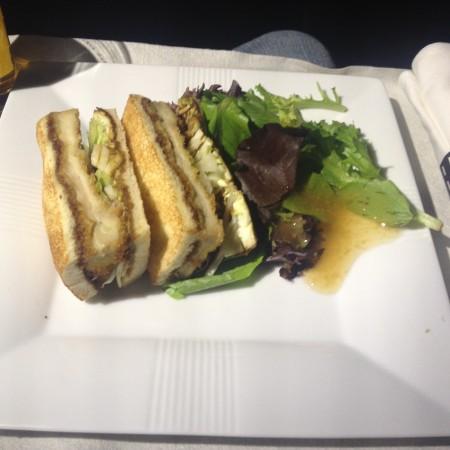 JALビジネスクラスの間食2