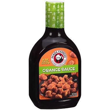 パンダエクスプレスのオレンジチキンソース