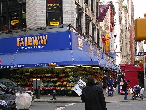 Fairway Marketニューヨークのスーパー