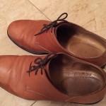 【写真15枚】革靴を水洗いして石鹸で洗った方法:雨シミ取れるよ