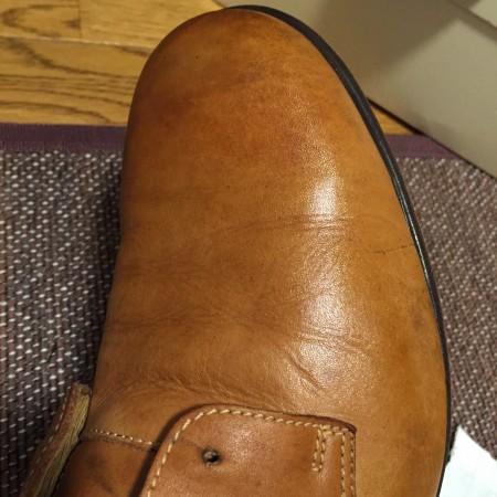 革靴とミンクオイル
