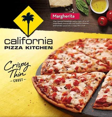 アメリカの冷凍ピザ
