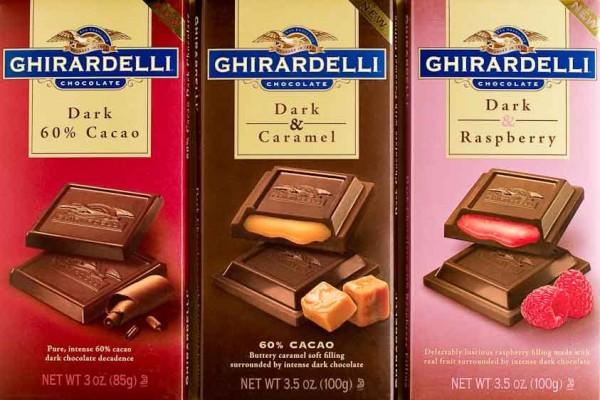 ギラデリのチョコレート
