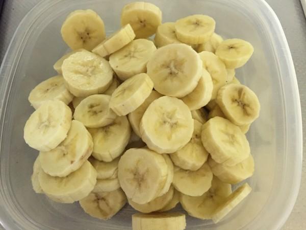バナナを冷凍する1