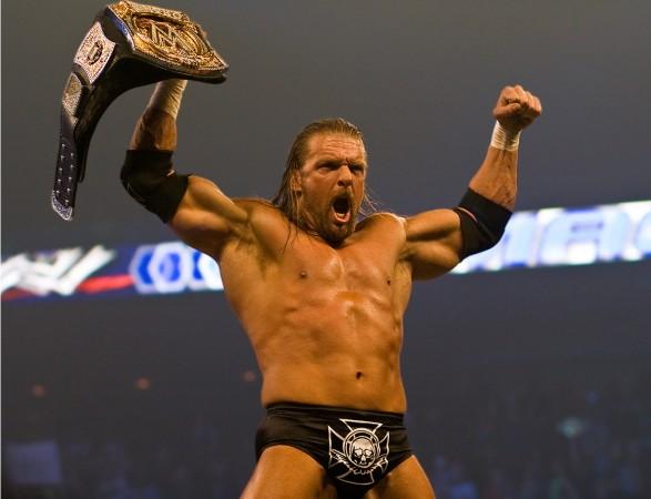 WWEチャンピオン トリプルH