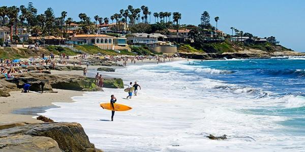 sandiegoビーチ