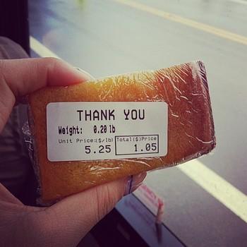 ハワイのバター餅