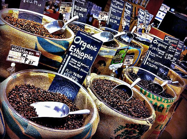 ハワイのホールフーズマーケットのコーヒー