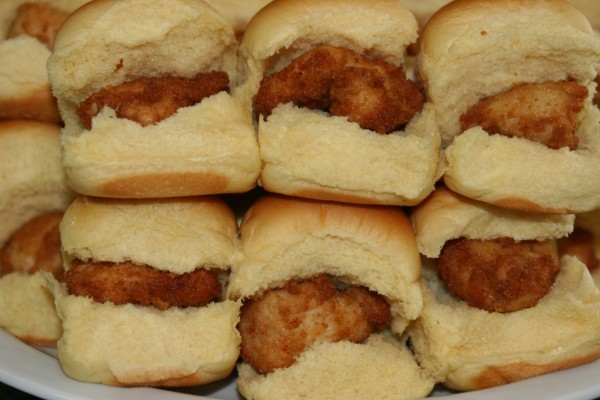 Chick-fil-a chicken minis