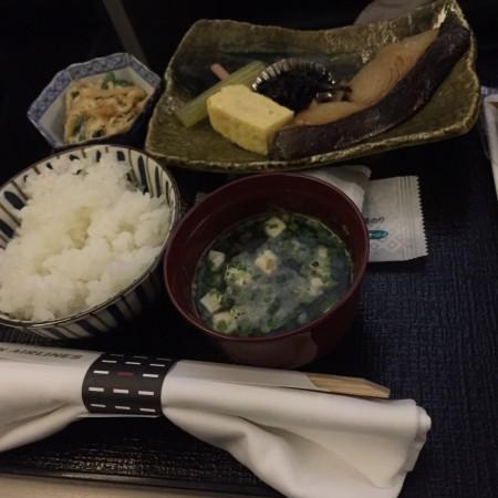 JAL777ビジネスクラス 搭乗記 軽食