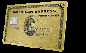 アメリカのクレジットカード AMEX PremierRewardsGold