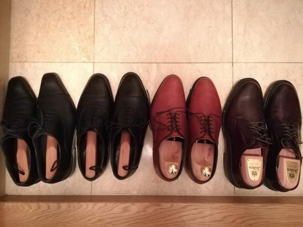 革靴のニオイ対策